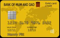 ilustrační kreditní karta